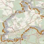 Taunussteinerrunde Überblick der Geocaches